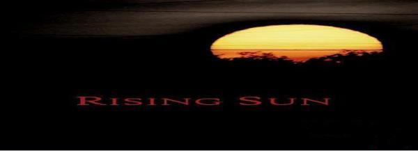 Rising Sun banner